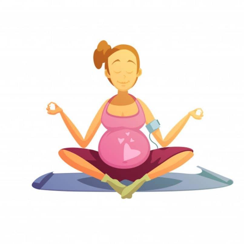 estiramientos durante el embarazo