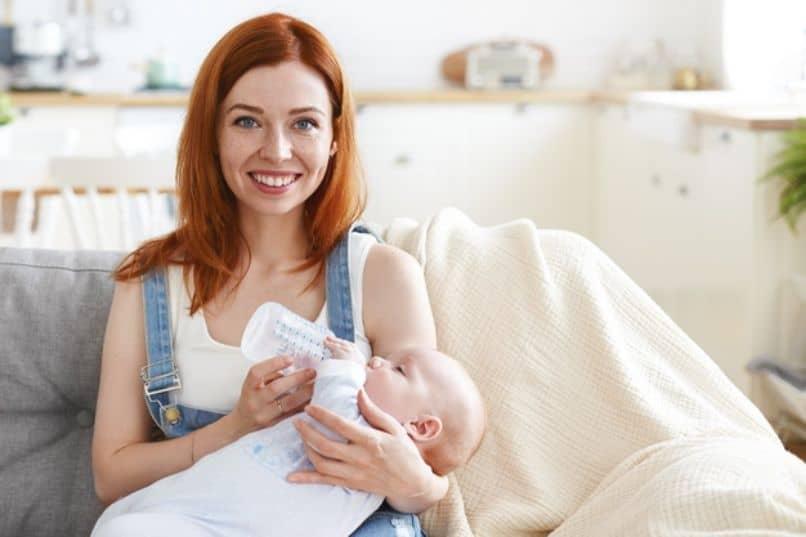 amamantar al bebe